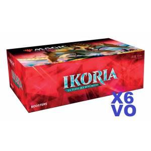LOT DE 6 BOITES IKORIA VO