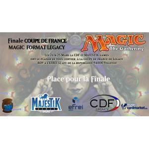 Place pour la Finale de la CDF Legacy