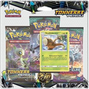 PACK 3 BOOSTERS POKÉMON SL08